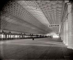 Union Station Concourse, Washington DC, Daniel H Burnham, 1903-7