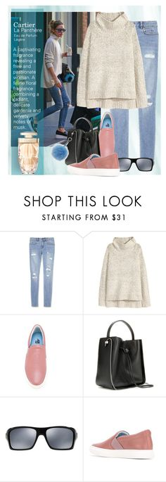 """""""Olivia Palermo"""" by bb60477 ❤ liked on Polyvore featuring H&M, 3.1 Phillip Lim, Oakley and Cartier"""