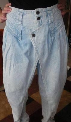 80s Z Cavaricci Pants - you know you had a pair of these!!