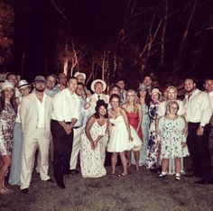An Actual Photo of Clay Matthews at His Wedding -- Here it is -- the elusive photo of Clay Matthews at his own wedding, which was earlier this offseason. Now, if maybe we could get one of him and the wife.