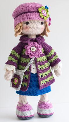 TILDA Crochet Doll Amigurumi doll Stuffed doll Handmade