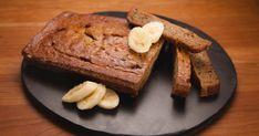 Essayez sans plus attendre cette recette de pain aux bananes avec l'ajout de Skor (morceaux de caramel chocolat). Allergies Alimentaires, Caramel, Banana Bread, French Toast, Muffins, Deserts, Pains, Breakfast, Food
