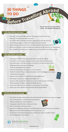 Ensure that your travels go without a hitch – this checklist will help you. Ensure that your travels go without a hitch – this checklist will help you. Travel Packing Checklist, Travelling Tips, Packing Tips, Travel Essentials, Traveling Abroad Checklist, Packing For Europe, Traveling Europe, Backpacking Europe, Travel Info