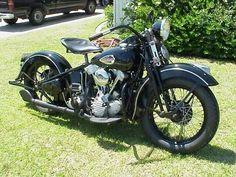 1940 HD Knucklehead - repined by http://www.vikingbags.com/ #VikingBags