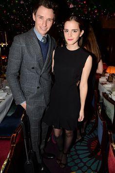 Eddie Redmayne + Emma Watson