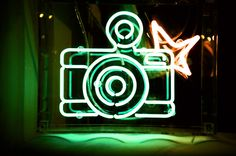 neon fisheye by MrLomo,
