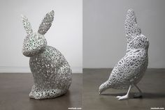 Intricate Sculptures, Chihyun Shin