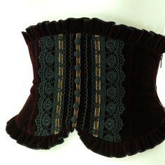 "Sheglit ""Frocky classical corset -bordeaux-"""