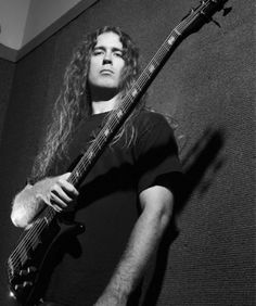Alex Webster of CANNIBAL CORPSE