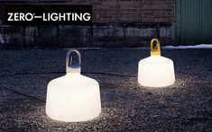 Zero Lampe de jardin Luminaires de sol Luminaires Extérieur  