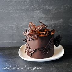 Not So Humble Pie: Mini Chocolate Butterfly Cake