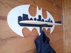 for CNC/laser cutting Batman shelf Boy Room, Kids Room, Batman Room, Cnc Plans, Upscale Furniture, Diy Projects For Beginners, Batmobile, Easy Diy, Simple Diy