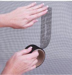 If your cat has ruined your screen door or window, there's a fix for that. 26 Hacks That Will Make Any Cat Owner's Life Easier Window Screen Repair, Window Screens, Crazy Cat Lady, Crazy Cats, Ikea Lack Regal, Cat Hacks, Life Hacks, Owning A Cat, Cat Room