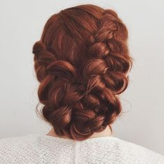 Who has time for April fools jokes when there are braids? Pretty Hairstyles, Braided Hairstyles, Wedding Hairstyles, Good Hair Day, Great Hair, Hair Dos, Gorgeous Hair, Hair Trends, Her Hair