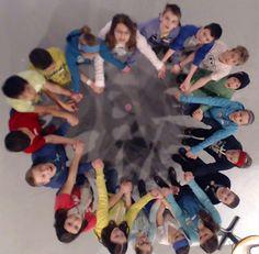 Mandala Humain Action Paix | CMIP 21