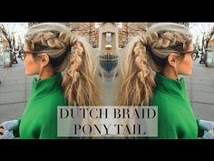 Dutch Pony Tail Tutorial - Barefoot Blonde by Amber Fillerup Clark
