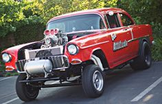 1955 Chevy, 1955 Chevrolet, Chevrolet Bel Air, Truck Flatbeds, Fuel Truck, Cool Old Cars, Old Race Cars, Chevy Muscle Cars, Vintage Race Car