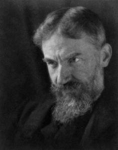 c. 1905: Portrait of George Bernard Shaw — Freevious