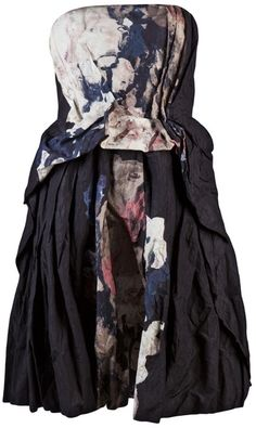 I'd wear this around the house with a very expensive glass of wine..