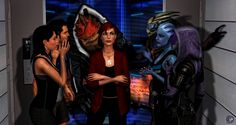(Mass Effect by toxioneer on DeviantArt Mass Effect Garrus, Mass Effect 1, Mass Effect Universe, Mass Effect Ashley, Mass Effect Quotes, Commander Shepard, Character Modeling, Dragon Age, Girls Be Like