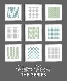 Free pattern pieces to download.  I've used these for gift tags, wrapping gifts, notes, etc.  If you have problems opening the compressed files, let me know.