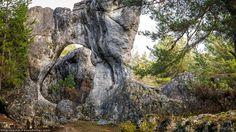 Laberinto de rocas en Los Callejones de las Majadas, cuenca #Paisajes #NaturalezaCaprichosa #Laberintos