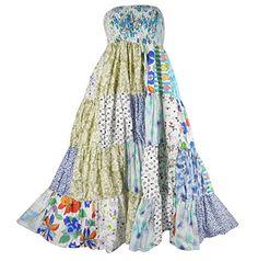 Bonya Women's 2 in 1 Bohemian Dress,Patchwork Swing Maxi Skirt - (Color151) Bonya Collections http://www.amazon.com/dp/B017TA3Z46/ref=cm_sw_r_pi_dp_yIKqwb06SSX2G