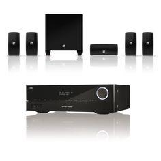 Ensemble home cinéma Harman Kardon AVR 171 + JBL Cinema 610 Amplificateur Home Cinema 3D Ready 7.2 - 7 x 100 W DLNA Bluetooth HDMI + Pack d'enceintes 5.1
