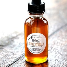 Triple Vanilla Infused Perfume & Massage Oil  by PhoenixBotanicals