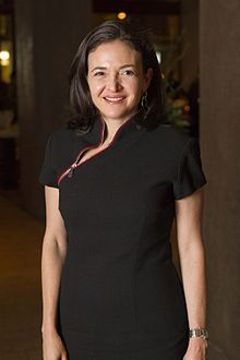Sheryl Sandberg, the successful COO of Facebook since 2008. #IWD