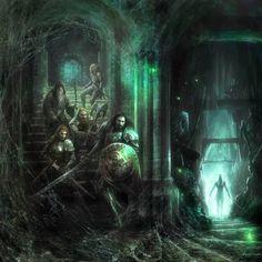 Dungeon. by Manzanedo on @DeviantArt