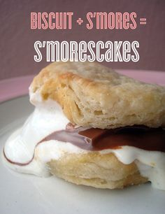 Biscuit S'more Shortcakes = S'morescakes?