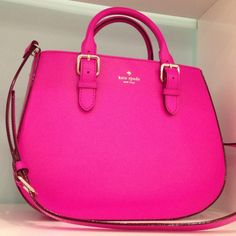 Loving Bright Purses To E Up A Winter Outfit