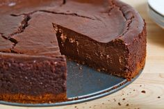 The only thing I bake is cheesecake and this one combines chocolate and Guinness.  YUM!