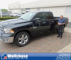 #HappyAnniversary to Robert Voyles on your 2013 #Dodge Truck #Ram 1500 from Luster Adams at Wolfchase Chrysler Jeep Dodge!