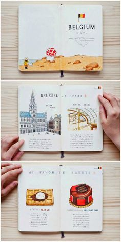 Wes Anderson-style travel brochure. Not sure if it's right for us but we like it!
