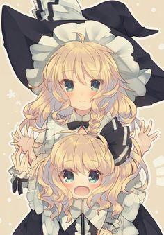 [Kawaii]Full-size and mini [Touhou] Fnaf Anime, Moe Anime, Manga Anime, Anime Art, Kawaii Anime Girl, Kawaii Chibi, Anime Boys, Character Art, Character Design