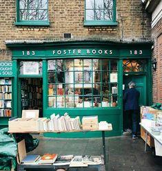 Librería Foster Books, en Londres.