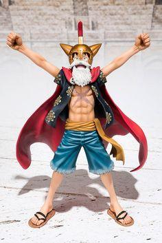One Piece PVC Action Figure Gladiator Lucy Luffy Figuarts ZERO 15 cm  (Bandai) Continua 64ae74199e4