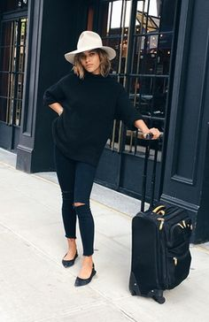 @troprouge in 8227 Photo Ready Ankle Skinny in Blue Mercy. #JBRAND
