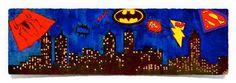 SuperHeroVille: Acrylics on Canvas Art of Creativity Studio Studio Art, Art Studios, Acrylics, Art Projects, Creativity, Mermaid, Birds, Fantasy, Artist