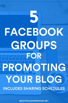 If you're not leveraging the power of Facebook to grow your blog, you're missing out. I'm sharing with you 5 Facebook groups for promoting your content.
