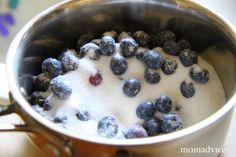 Fresh Blueberry Pancake Syrup On Homemade Waffles | The Motherload