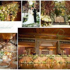 amazing custom seamless gold oval dance floor wedding at the Arizona Biltmore