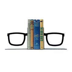 The Looking Glasses Bookends