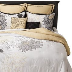 Ruby Floral 8 Piece Comforter Set