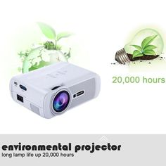 Buy cheap white eu Uhappy Mini Portable Multimedia HD LED LCD Projector 1080P 3D Home Cinema Theater PC Laptop VGA USB AV HD SD from Tomtop.com. All kinds of Others Components online, various discounts are waiting for you.
