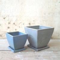 Bens sml and short Ceramic Planters, Planter Pots, Contemporary Ceramics, Stoneware, Container, Handmade, Ceramic Pots, Hand Made, Modern Ceramics
