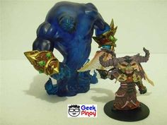 Gnome Warlock Valdremar with Voidwalker Action Figure Review Gnomes, Action Figures, Image