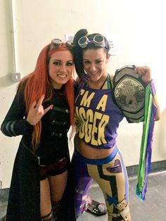 WWE Bayley and Becky